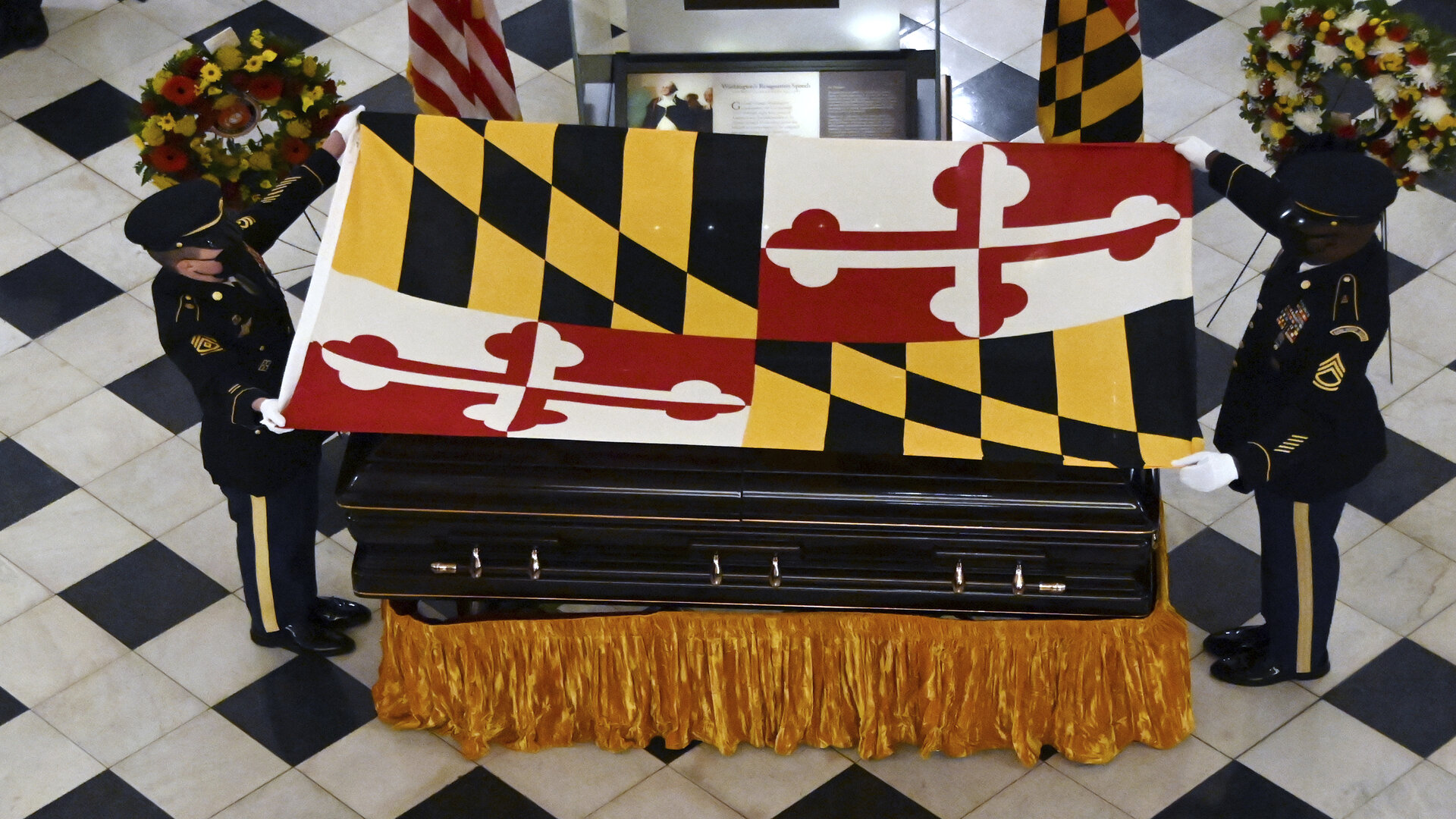 Maryland officials to remember longtime Senate president