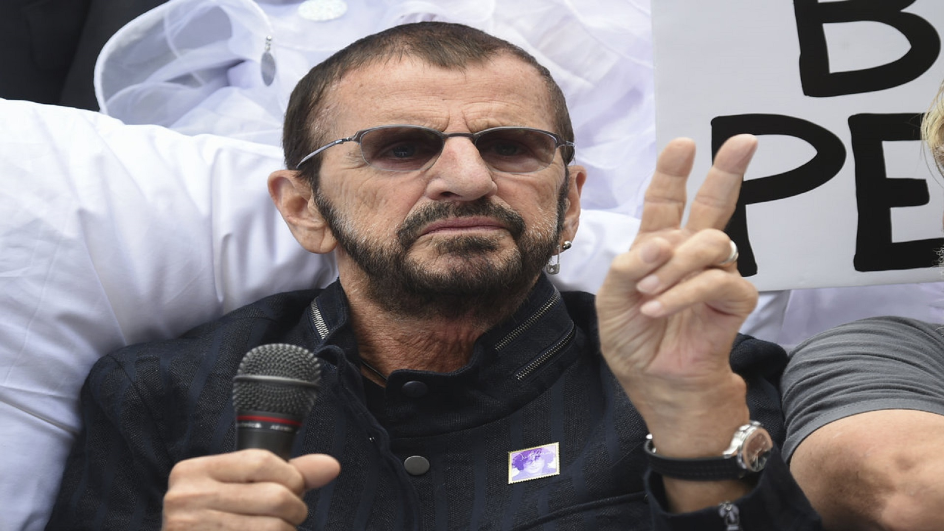 Ringo calling! If he wants you to sing, who could say no?