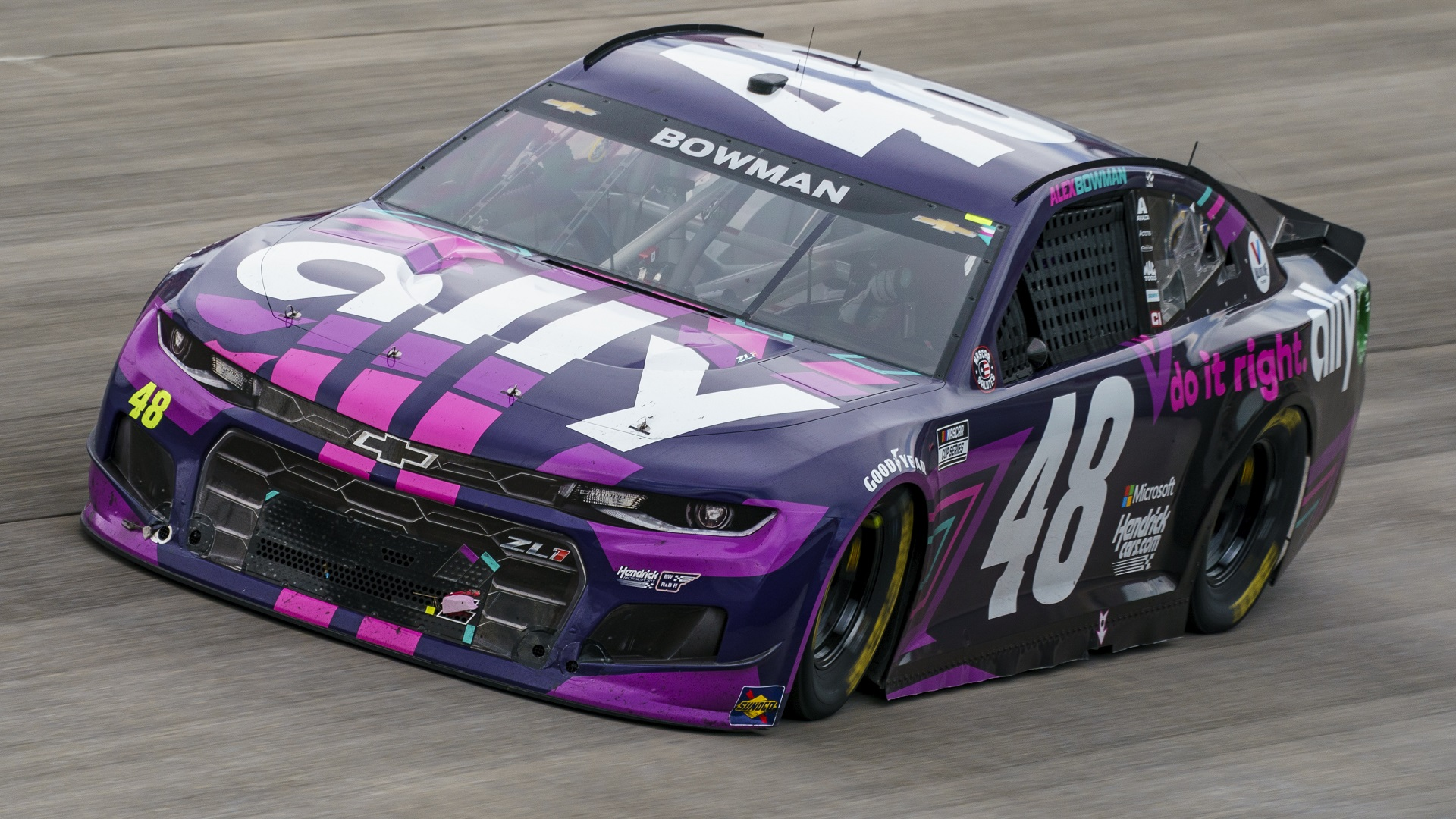 Bowman parks 48 in familiar spot in victory lane at Dover