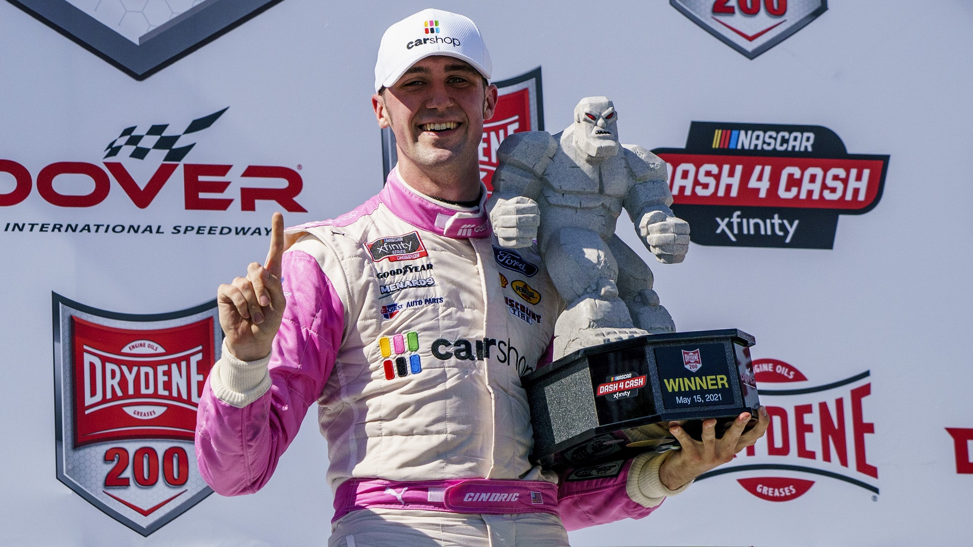 Cindric romps in NASCAR Xfinity Series victory at Dover