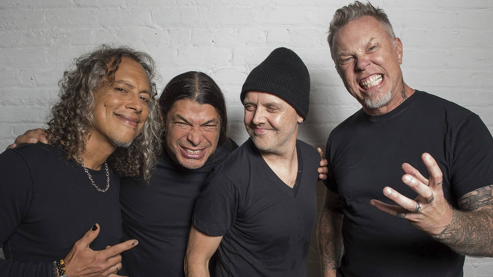 An all-you-can eat Metallica buffet of 'Black Album' covers